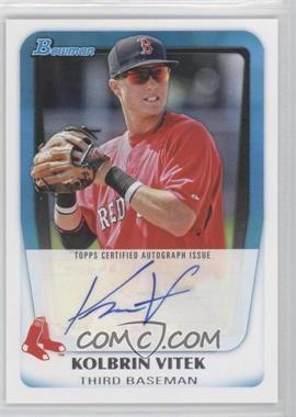 2011 Bowman - Prospects Autograph #BPA-KV - Kolbrin Vitek