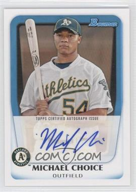 2011 Bowman - Prospects Autograph #BPA-MC - Michael Choice