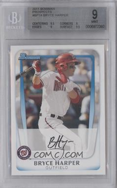 2011 Bowman - Prospects #BP1.1 - Bryce Harper (Base) [BGS 9]