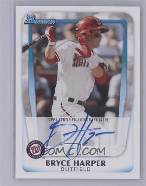 2011 Bowman - Prospects #BP1.2 - Bryce Harper (Autograph) [Mint]