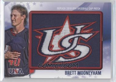 2011 Bowman - Replica 2010 USA Baseball Patch #USA-36 - Brett Mooneyham /25