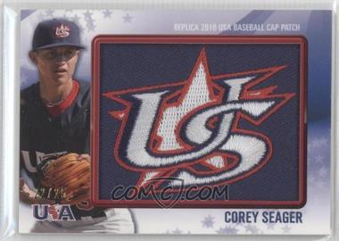 2011 Bowman - Replica 2010 USA Baseball Patch #USA-63 - Corey Seager /25