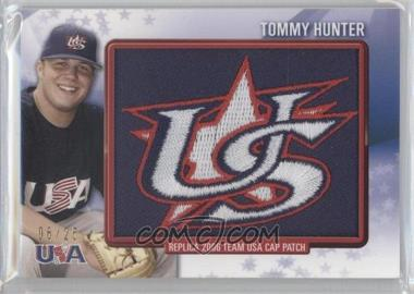 2011 Bowman - Retro Patch Relics #RPR-12 - Tommy Hunter /25