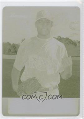2011 Bowman - Topps 100 - Printing Plate Yellow #TP18 - Matt Moore /1