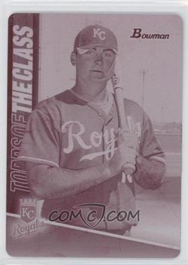 2011 Bowman - Topps of the Class - Printing Plate Magenta #TC17 - Clint Robinson /1