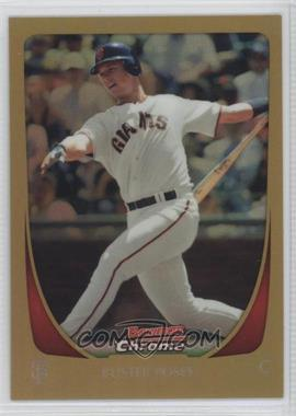 2011 Bowman Chrome - [Base] - Gold Refractor #1 - Buster Posey /50