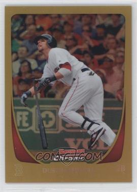 2011 Bowman Chrome - [Base] - Gold Refractor #19 - Dustin Pedroia /50
