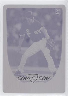 2011 Bowman Chrome - [Base] - Printing Plate Magenta #200 - Chris Sale /1