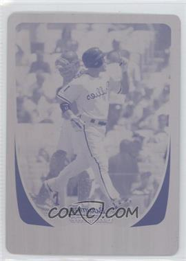 2011 Bowman Chrome - [Base] - Printing Plate Magenta #66 - Jimmy Rollins /1