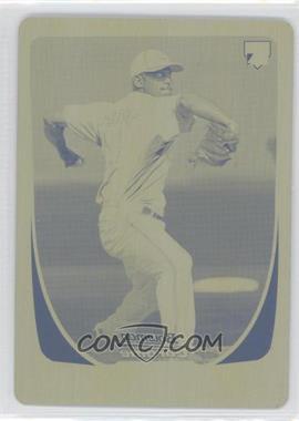 2011 Bowman Chrome - [Base] - Printing Plate Yellow #188 - Mark Rogers /1