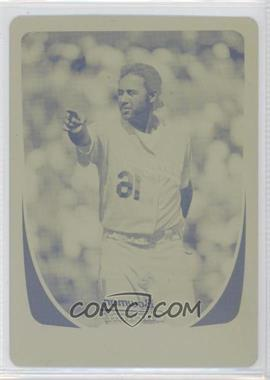 2011 Bowman Chrome - [Base] - Printing Plate Yellow #53 - Andre Ethier /1