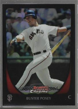 2011 Bowman Chrome - [Base] - Refractor #1 - Buster Posey