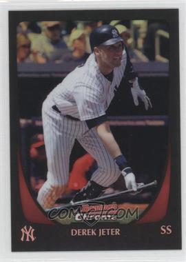 2011 Bowman Chrome - [Base] - Refractor #129 - Derek Jeter