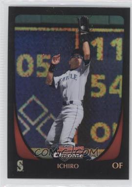 2011 Bowman Chrome - [Base] - Refractor #135 - Ichiro Suzuki