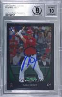 Mike Trout [BAS Certified BAS Encased]