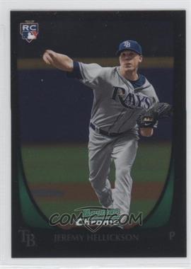 2011 Bowman Chrome - [Base] #179 - Jeremy Hellickson