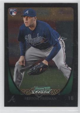 2011 Bowman Chrome - [Base] #185 - Freddie Freeman
