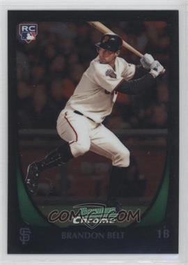 2011 Bowman Chrome - [Base] #203 - Brandon Belt