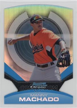 2011 Bowman Chrome - Futures - Refractor #2 - Manny Machado