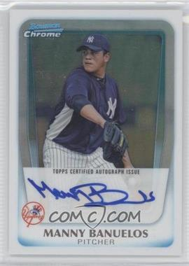 2011 Bowman Chrome - Prospects Autograph - Refractor #BCP133 - Manny Banuelos /500
