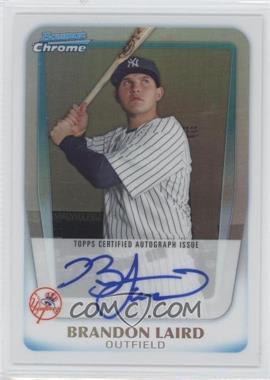 2011 Bowman Chrome - Prospects Autograph - Refractor #BCP214 - Brandon Laird /500