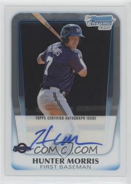 2011 Bowman Chrome - Prospects Autograph #BCP130 - Hunter Morris