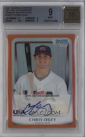 Chris Okey /25 [BGS 9 MINT]