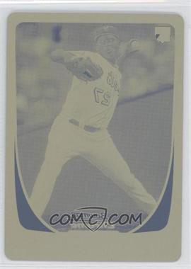 2011 Bowman Draft Picks & Prospects - [Base] - Printing Plate Yellow #5 - Pedro Beato /1