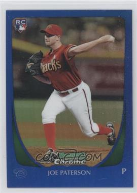 2011 Bowman Draft Picks & Prospects - Chrome - Blue Refractor #67 - Joe Paterson /199