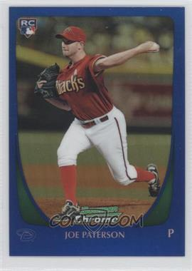 2011 Bowman Draft Picks & Prospects - Chrome - Blue Refractor #67 - Joe Paterson /199