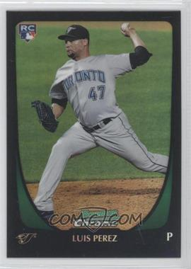 2011 Bowman Draft Picks & Prospects - Chrome - Refractor #69 - Luis Perez