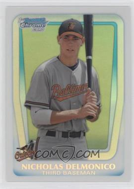 2011 Bowman Draft Picks & Prospects - Chrome Draft Picks - Refractor #BDPP26 - Nicholas Delmonico