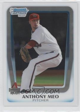 2011 Bowman Draft Picks & Prospects - Chrome Draft Picks #BDPP59 - Anthony Meo