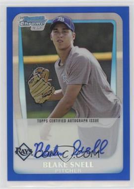 2011 Bowman Draft Picks & Prospects - Chrome Prospects Autograph - Blue Refractor #BCAP-BSN - Blake Snell /150