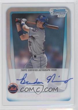 2011 Bowman Draft Picks & Prospects - Chrome Prospects Autograph - Refractor #BCAP-BN - Brandon Nimmo /500