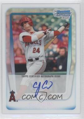 2011 Bowman Draft Picks & Prospects - Chrome Prospects Autograph - Refractor #BCAP-CC - C.J. Cron /500