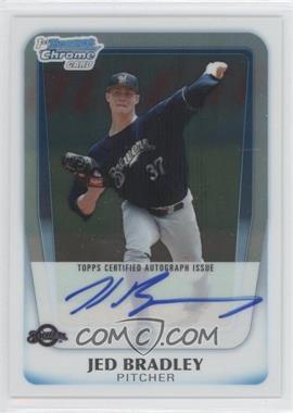 2011 Bowman Draft Picks & Prospects - Chrome Prospects Autograph #BCAP-JB - Jed Bradley