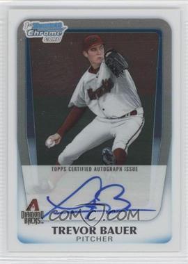 2011 Bowman Draft Picks & Prospects - Chrome Prospects Autograph #BCAP-TB - Trevor Bauer