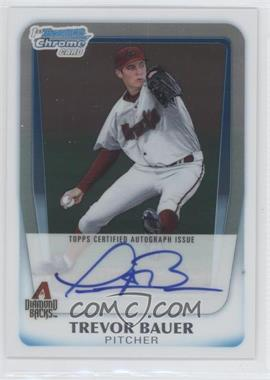2011 Bowman Draft Picks & Prospects - Chrome Prospects Autograph #BCAP-TB - Trevor Bauer