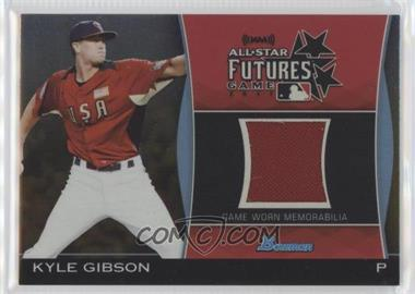 2011 Bowman Draft Picks & Prospects - Futures Game Relics - Gold #FGR-KG - Kyle Gibson /50