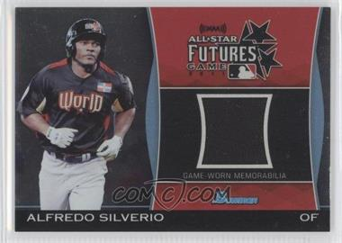 2011 Bowman Draft Picks & Prospects - Futures Game Relics #FGR-AS - Alfredo Silverio