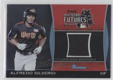 2011 Bowman Draft Picks & Prospects - Futures Game Relics #FGR-AS - Alfredo Silverio