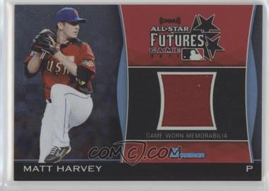 2011 Bowman Draft Picks & Prospects - Futures Game Relics #FGR-MH - Matt Harvey