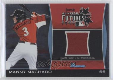 2011 Bowman Draft Picks & Prospects - Futures Game Relics #FGR-MM - Manny Machado