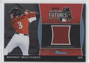 2011 Bowman Draft Picks & Prospects - Futures Game Relics #FGR-MM - Manny Machado