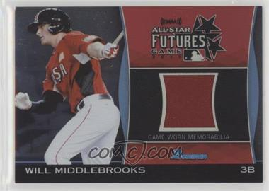2011 Bowman Draft Picks & Prospects - Futures Game Relics #FGR-WMI - Will Middlebrooks