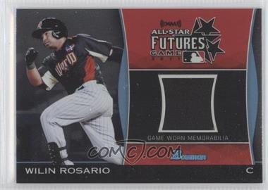 2011 Bowman Draft Picks & Prospects - Futures Game Relics #FGR-WR - Wilin Rosario
