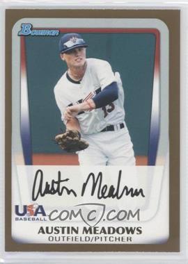2011 Bowman Draft Picks & Prospects - Prospects - Gold #BDPP100 - Austin Meadows
