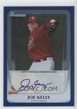 2011 Bowman Draft Picks & Prospects - Retail Prospects Certified Autographs - Blue [Autographed] #BPA-JK - Joe Kelly /199