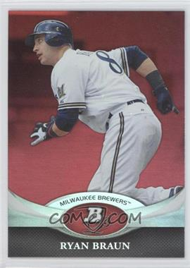 2011 Bowman Platinum - [Base] - Red #17 - Ryan Braun